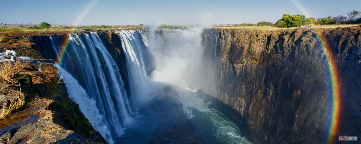 Victoria Falls-One of the greatest attractions in Africa and one of the most spectacular waterfalls in the world